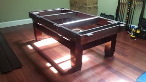 Correctly performing Billiard table installations, Zionsville Indiana