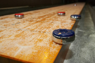 SOLO® Shuffleboard Movers Zionsville, Indiana.